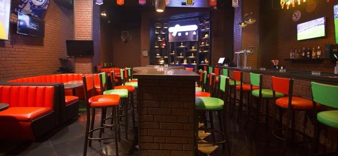 The sport bar, 10