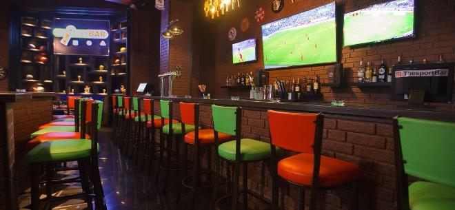 The sport bar, 1