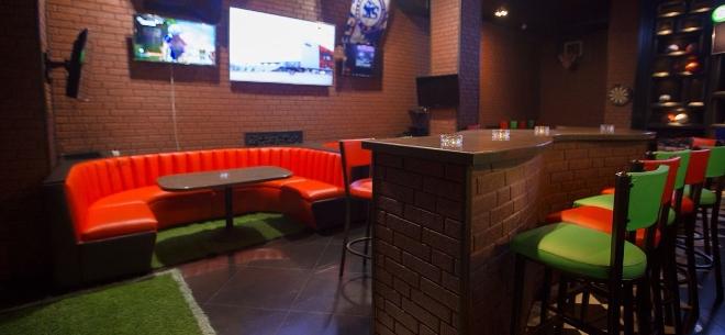 The sport bar, 5
