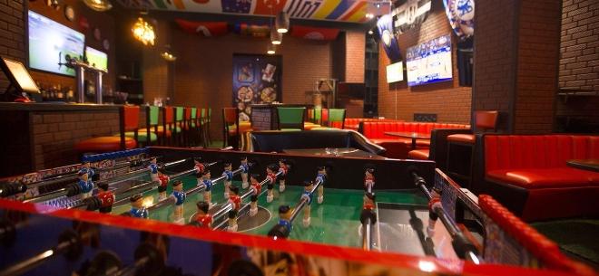The sport bar, 8
