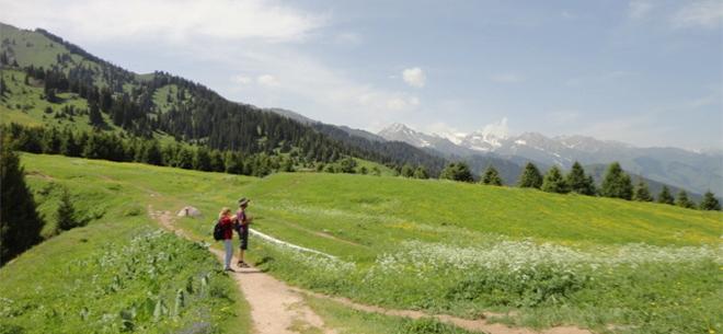 I love Almaty mountains, 9