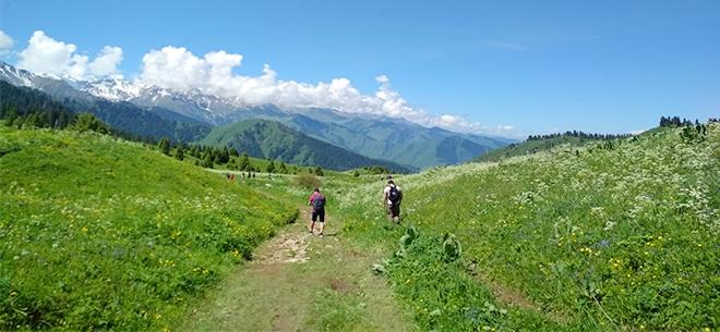 I love Almaty mountains, 5