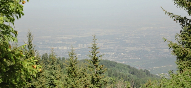 I love Almaty mountains, 7