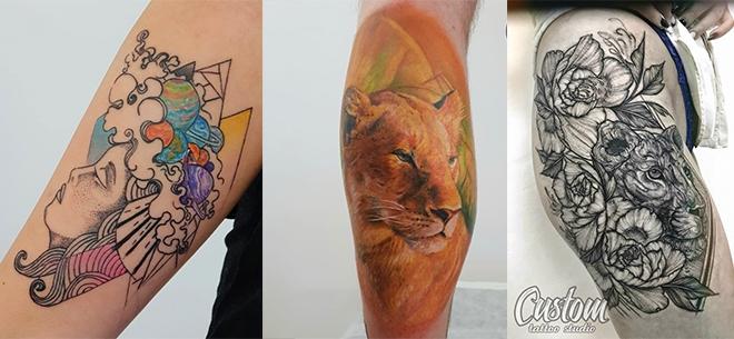 Студия Custom Tattoo, 2