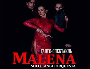 Искусство страсти! Билет на танго-спектакль «Малена» 21 ноября в Казахской Государственной Филармонии им. Жамбыла! Скидка 50%!