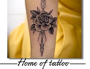 Искусство, которое всегда с Вами! Все виды татуировок и подарочные сертификаты в студии Home of Tattoo со скидкой до 50%!
