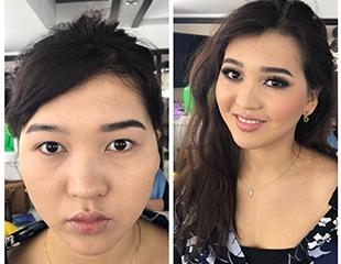 На все случаи жизни! Дневной, вечерний и свадебный макияж в салоне красоты «Мармелад» со скидкой 60%!