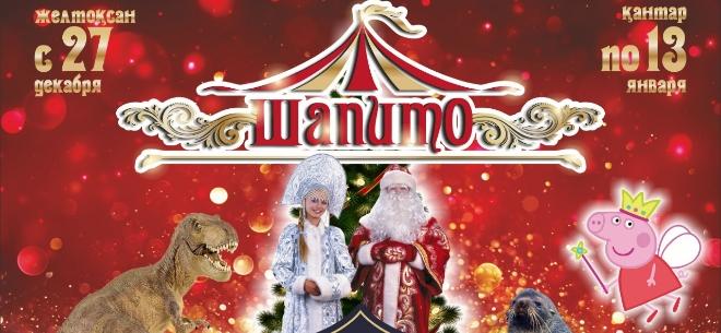Новогоднее шоу в цирке «Шапито», 1