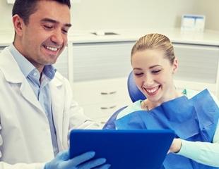 Профессиональный уход для ослепительной улыбки! Установка виниров и коронок со скидкой до 61% от стоматолога Алиева Эмина Ильгамовича!