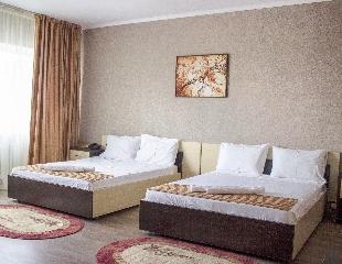 Комфорт по доступной цене! Проживание на 1, 3 и 5 суток в гостинице «Азамат» со скидкой до 55%!