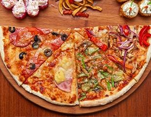 Пицца, роллы и дымные сеты! Меню и бар со скидкой 50% в vTumane Hookah Bar!