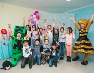 День рождения только раз в год! Пакет на 3 часовую программу веселых дней рождения в студии детских праздников СкаZка со скидкой 50%!