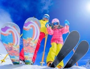 Время кататься! Аренда лыж и сноубордов со скидкой 30% от магазина Velomir!