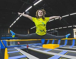 Спорт и веселье для всей семьи! Посещение батутного развлекательного парка KANGO со скидкой 29% в городе Астана!