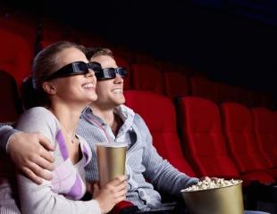 От желания до фильма один клик! Кинопакет для двоих: 2 билета на сеанс + 2 попкорна + 2 колы со скидкой 30% в кинотеатре Арман на пр. Достык!