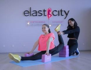 Тренируйся у чемпионов! Stretching, Pilates  в Stretching studio ElastiCity by Zhumatayeva & Beibutova со скидкой до 90%!