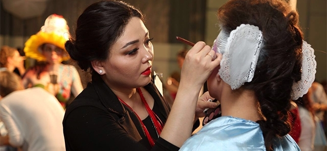 Make up Academy Gulzhan Satzhan, 6