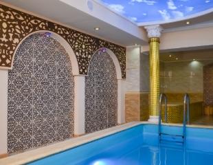 Позвольте себе понежиться! Посещение хамама, бассейна, джакузи и караоке в SPA-центре Almaty при гостинице «Алма-Ата» со скидкой 50%!