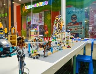 Конструктор любят все! Подарите детям радость творчества в игровом центре «Мир Лего» в ТРЦ MART! Скидка 50%!