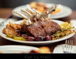 Самое вкусное из Италии! Все меню и бар в кафе La Fenice со вкусной скидкой 50%!