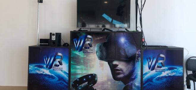 VR-аттракцион в ТРЦ Nauryz Park, 2