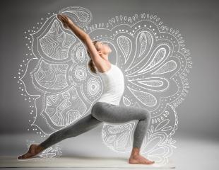 Путь к здоровью и легкости! Йога и восточные танцы для взрослых от Школы искусств Samga в Halyk Arena со скидкой до 63%!