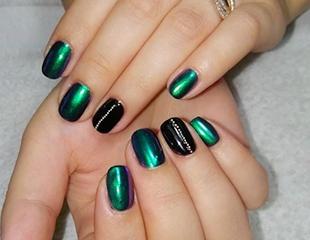 Ноготки Вашей мечты! Маникюр, педикюр и наращивание ногтей со скидкой до 60% в салоне красоты «Регана»!