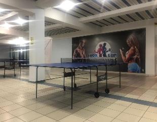 Играйте с удовольствием! Аренда теннисного стола + ракетки + шарик для игры в теннисном клубе «Ma Long» со скидкой 50%!
