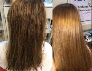 Кератиновое выпрямление, лечение и ламинирование волос и ресниц в салоне «Ясмин&Жасмин» со скидкой до 64%!