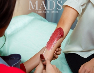 Уверенность в каждом движении! Шугаринг всех зон для женщин и мужчин в 4 руки в студии MADS nails & depilation со скидкой до 62%!