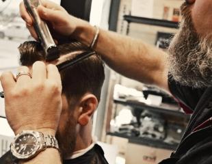 Обрати на себя внимание! Мужские стрижки, пакет «Отец  + сын», а также оформление бороды в барбершопе Nedman со скидкой 50%!