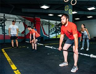 Сила и мощь! Кросс-тренировки со скидкой 50% от центра эффективного фитнеса Adam!