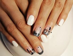 Мода на кончиках пальцев! Маникюр с гелевым покрытием и дизайном E.Mi в студии красоты Fly со скидкой до 43%!