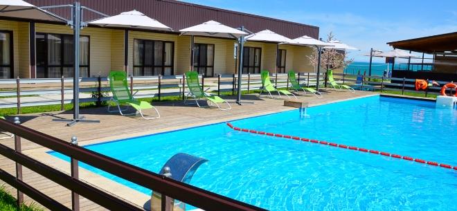 Отель «Бриз» на озере Алаколь, 2