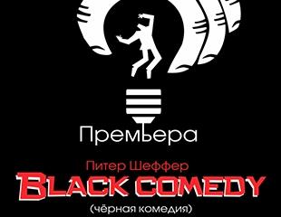 Премьера года! Билеты на спектакль «Black Comedy» 25 мая в ГАРТД им. Лермонтова со скидкой 30%!