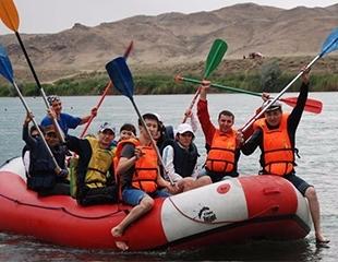 Сплав по реке Или со скидкой 25% от Asia Discovery!