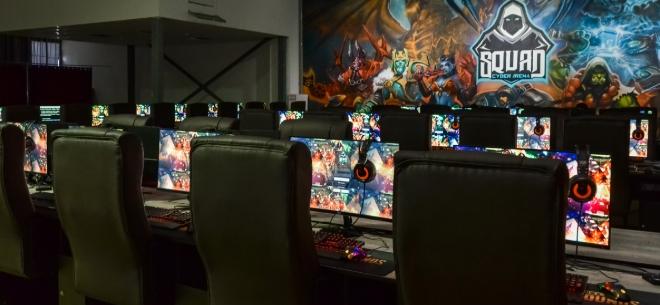Игровой клуб SQUAD cyber arena, 1