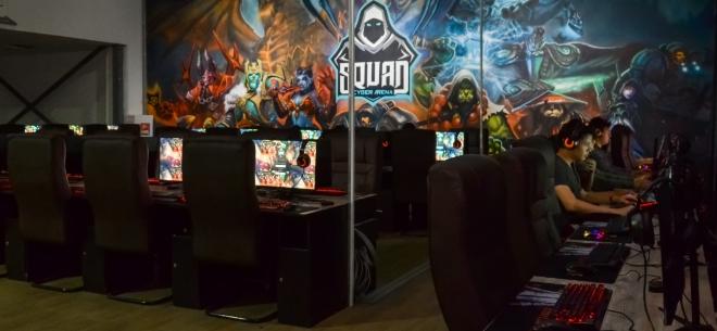 Игровой клуб SQUAD cyber arena, 7