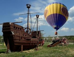 Встречай рассвет в небе! Привязной подъем на воздушном шаре от компании Air Way со скидкой 50%!