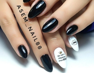 Маникюр, наращивание ногтей и различные дизайны от мастера Асемы со скидкой до 79% в салоне Zaura_botan!