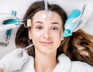 Лицо с обложки! Ультразвуковая чистка, пилинг, маска, аппаратная мезотерапия от косметолога Маржан в салоне Billion со скидкой до 61%!