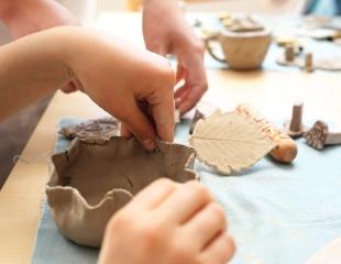 Посещение мастер-класса «Скульптор» от Handcrafts в ТРЦ Grand Park со скидкой от 30%!