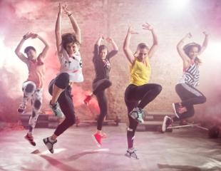 Все для Вашего красивого тела! Фитнес, аэробика, стретчинг, а также программа MixDance с зумбой, сальсой и бачатой в студии Mix Dance со скидкой до 54%!
