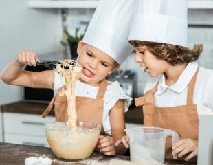 Посещение кулинарного мастер-класса для детей от Handcrafts в ТРЦ Grand Park со скидкой 30%