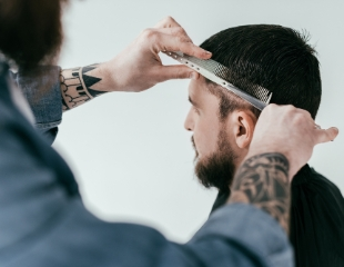 Детские и мужские стрижки любой сложности, а также моделирование бороды со скидкой до 50% от мастера Фахри!