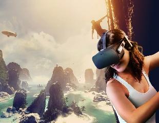 Окунитесь в мир кибер-пространства с Oculus Rift! Посетите аттракцион виртуальной реальности с более чем 100 играми! Скидка до 52%!