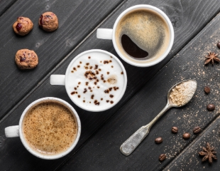 Атмосфера вкусного общения! Любой вид кофе со скидкой 100% в кофейне Salem HUB!