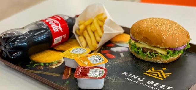 King Beef Halal Burgers, 5