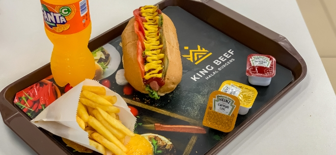 King Beef Halal Burgers, 6