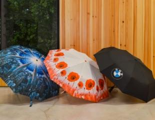 Добавьте цвета в непогоду! Зонты различных цветов и видов для всей семьи со скидкой 30% от компании Turkamani!